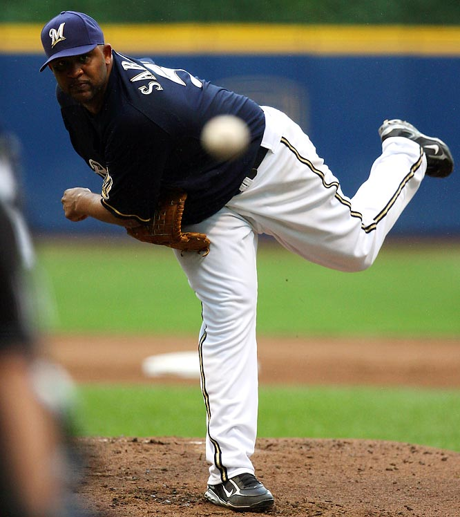 Since being acquired by the Brewers on July 7 from the Indians for former No. 7 overall pick Matt LaPorta and three minor league players (Zach Jackson, Rob Bryson and Taylor Green), Sabathia has gone 4-0 with a 1.82 ERA and three complete games. The Brewers are on a five-game losing streak after a July 31st loss to the Cubs and remain 5.0 games behind Chicago in the NL Central.