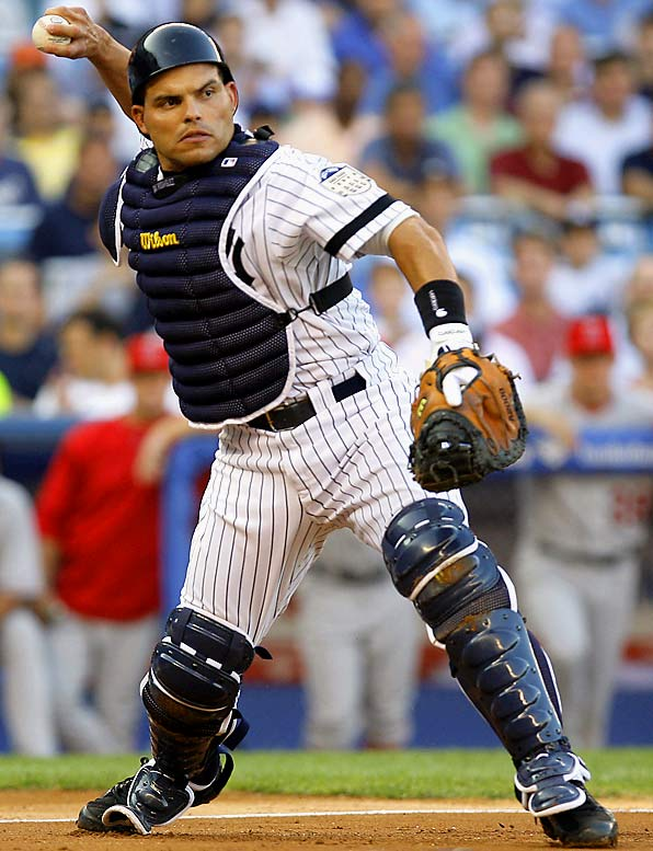 On July 30, the Yankees acquired Rodriquez for right-hander reliever Kyle Farnsworth. The 36-year-old catcher will fill in for Jorge Posada, who had season-ending shoulder surgery, and should give the Yankees an offensive boost behind the plate while providing the stellar defense expected of a 13-time Gold Glove winner.