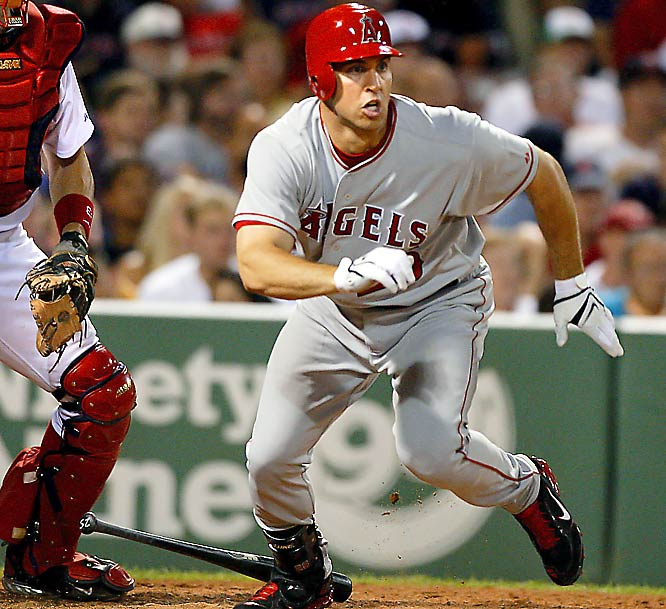 On July 29, slugging first baseman Mark Teixeira was acquired by the Angels for first baseman Casey Kotchman and minor league relief pitcher Steve Marek. Just one day later, Teixeira went 0-4 in his Angels debut.