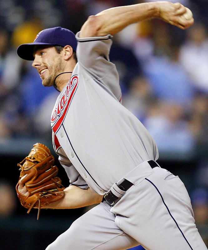 Indians lefthanded starter Cliff Lee, who had been a mainstay of Cleveland's rotation for three seasons until a horrific '07 led to a demotion to the minors, began '08 pitching the best of his career. He threw a complete-game, three-hit, no-walk, nine-strikeout shutout of the Royals to improve to 4-0--the third of his first four starts in which he didn't allow an earned run. He won his first six starts of the year and is now 11-1 with a 2.34 ERA.