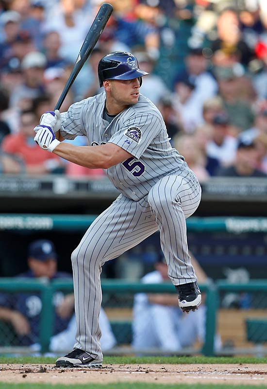 Though the Rockies aren't set on trading him, the Rays, Mets, Yankees,  Angels and Cardinals, have all expressed interest in the three-time All-Star left fielder's .344 batting average and 14 home runs.