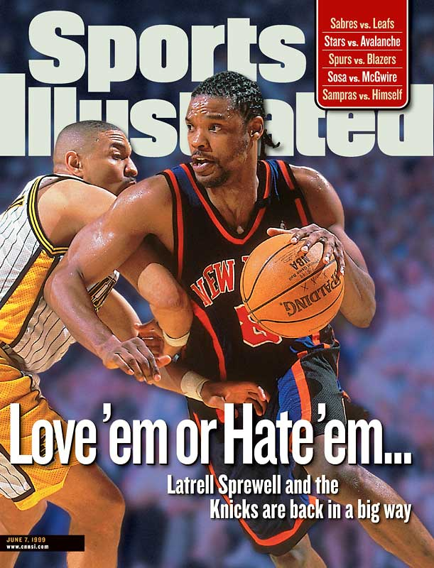 The end of the lockout touched off a flurry of personnel activity, including Scottie Pippen's move to Houston through a sign-and-trade deal involving Chicago and the Knicks' acquisition of Latrell Sprewell, who hadn't played since choking Warriors coach P.J. Carlesimo in December 1997. Sprewell enjoyed a honeymoon period in New York, helping to lead the Knicks to the NBA Finals as the eighth seed in the Eastern Conference.