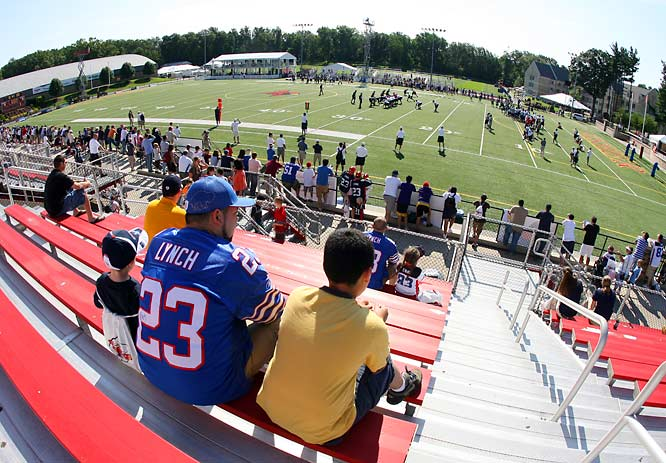 SI photographer Bill Wippert's shots from Bills training camp.