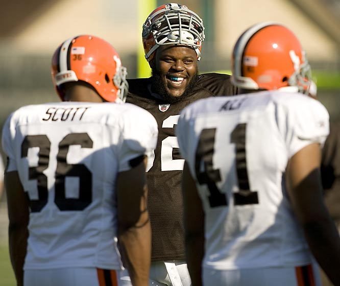 SI photographer Michael J. LeBrecht II recently spent time at the Browns camp. Here are some of his photos from that shoot.