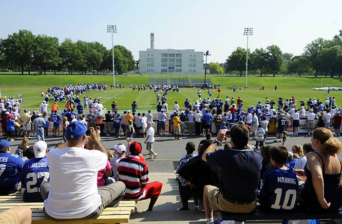 SI photographer John Iacono's shots from Giants training camp.