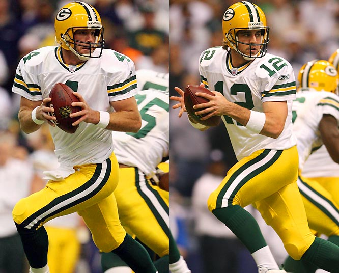 With Aaron Rodgers set to take over for Brett Favre in Green Bay, here's a look at how backups have fared in taking over for Hall of Fame-caliber quarterbacks over the years.