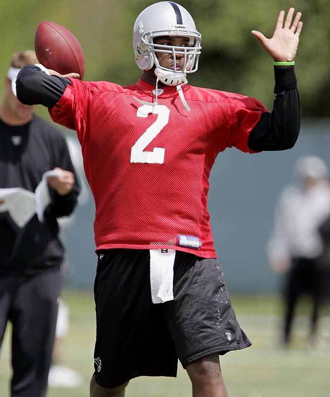 Where: Napa Valley Marriott; Napa Valley, Calif.<br><br>Opens: July 26<br><br>Storyline: The Raiders' year will be based on JaMarcus Russell's development in his second year as an NFL quarterback.
