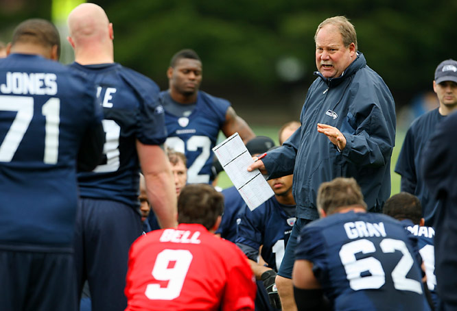 Where: Practice facility; Kirkland, Wash.<br><br>Opens: July 25<br><br>Storyline: Mike Holmgren enters his final season in Seattle with a team capable of winning it all.