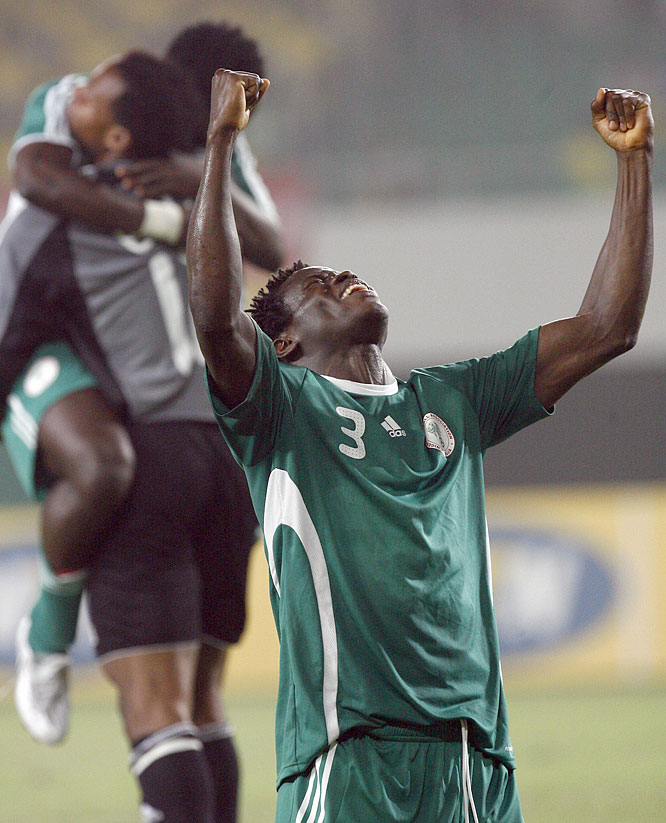 The Olympic Marseille defender hopes to lead the Super Eagles to a repeat of their gold medal at the 1996 Games.
