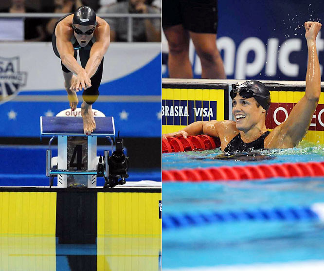 By now, most seem to know who Torres is. At 41, she will be the first U.S. swimmer to compete in five Olympics (1984, 1988, 1992, 2000, 2008) when she strives for gold in the 50-meter freestyle, 4x100 medley relay and 4x100 freestyle relay. Already the owner of nine Olympic medals, Torres turned heads at the Olympic Trials when she twice broke her own American record in the 50-meter freestyle -- a record she first set at age 15.