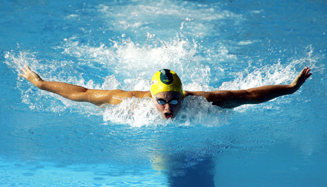 The world record-holder in the 200-meter butterfly, Schipper is also a recipient of the Order of Australia Medal, which she won in 2005. With an additional 12 world championship medals, including eight gold, Schipper enters Beijing as the favorite in the 100- and 200-meter butterfly.