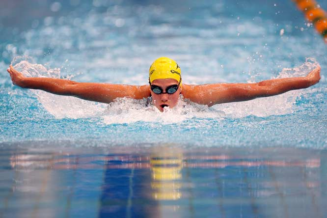 Rice, 20, set the 200 and 400 IM world records in March and is seeking gold in both events in Beijing. Alongside ex-boyfriend and fellow Australian team member Eamon Sullivan -- who broke the 50-free world mark in March -- the two comprise the fastest couple at the Olympics.