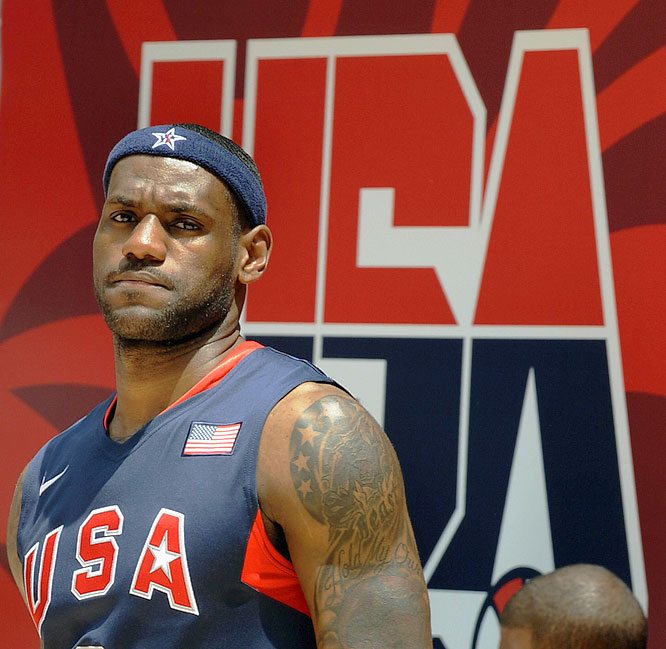 """King James provided ample bulletin board material for the competition in Beijing, issuing a guarantee the United States will bring home the gold medal for the first time since 2000. Can the reigning NBA scoring champion deliver on his promise and lead the """"Redeem Team"""" to victory?"""