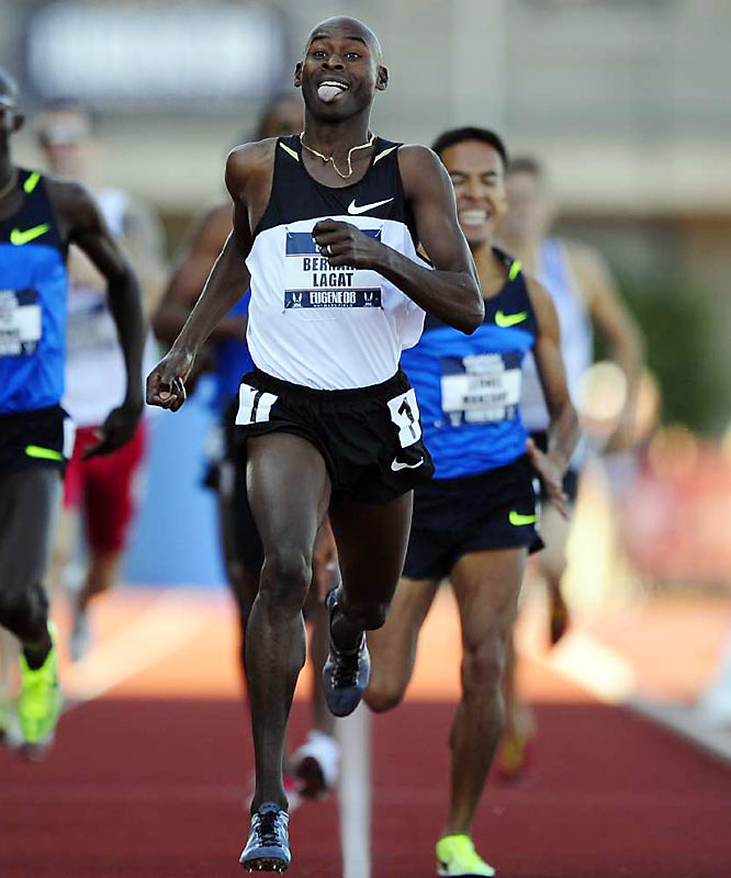 Lagat became the first athlete to win both the 1,500- and 5,000-meters at the world championships, accomplishing the feat in 2007. Representing the U.S. in Beijing, the two-time Olympic medalist takes on a slew of Kenyan favorites as he sets his sights on two gold medals.