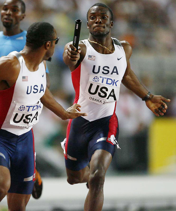 Merritt won the 2008 U.S. Olympic Trials, beating the favored Wariner in the process. A year ago he became the ninth sprinter to break the 44-second barrier in the race, turning in a 43.96 at the 2007 World Outdoor Championships in Osaka, Japan.