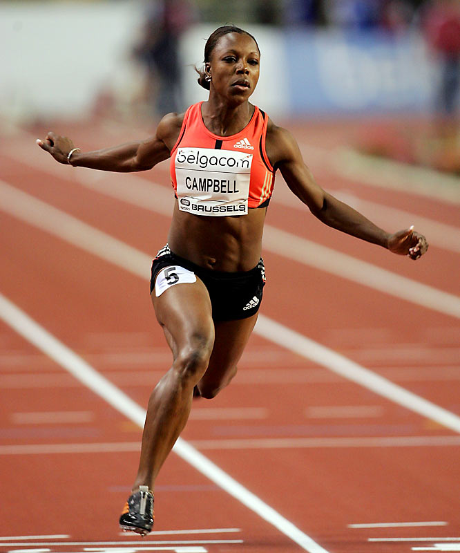 Her four-medal performance (two gold, one silver, one bronze) at the 2004 Olympics made her the most successful Caribbean athlete ever at a single Games and the first Caribbean athlete to win a sprint title. The reigning world 100 champion won't compete in that event in China, but she will look to defend her golds in the 200 and 4x100-meter relay.