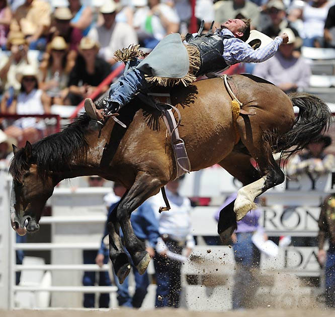 The Cheyenne Frontier Days have been going on for 112 years and include art festivals, concerts and some of the toughest cowboys around.