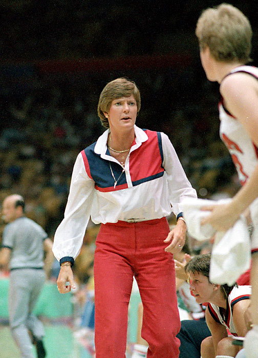 The Pat Summit-coached squad topped teams by an average of 32.5 points to waltz to the 1984 gold medal.