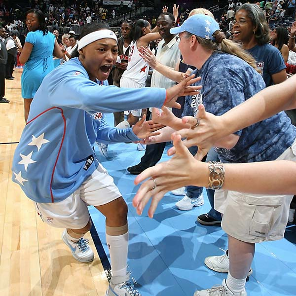 After the longest losing streak in league history, the Atlanta Dream celebrated it's first win, a victory over the Chicago Sky.