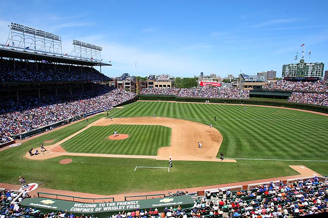 Opened in 1916 (and originally named Weeghman Park), Wrigley is a living monument to America's pastime, from its ivy-covered outfield walls to the hundreds of fans who hang out on rooftops across the street from the stadium to take in a game. Is this the year the Cubs break their 100-year curse and finally bring a championship to Wrigley? Stay tuned ...