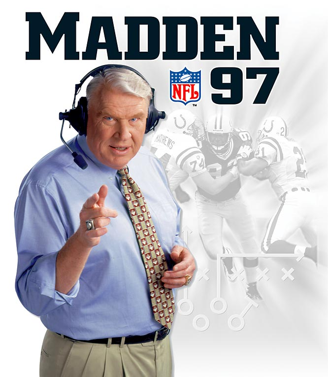 Madden goes hi-rez with this first 32-Bit release on the PlayStation and Saturn game systems.