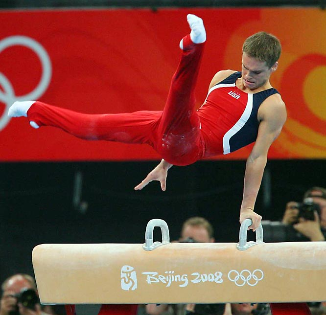 Sasha Artemev's closing performance on the pommel horse, which helped the U.S. win the bronze in team competition, despite the absence of Olympic veterans Paul and Morgan Hamm.