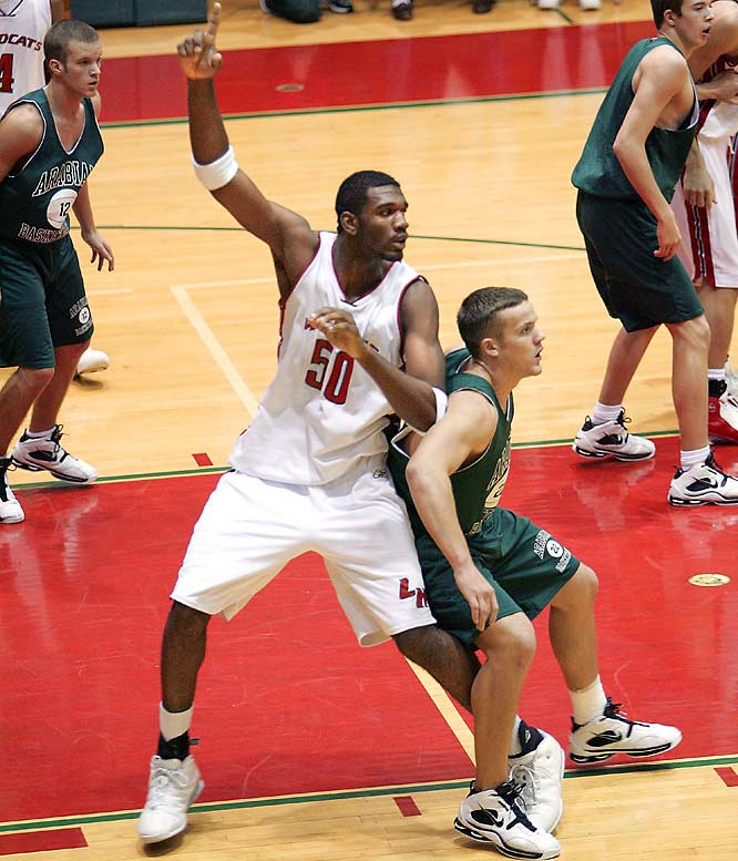 Oden was probably the most notable player affected when the NBA installed the 19-year-old age limit in 2005. Oden would have been a shoe-in for high-school-to-NBA transition, but as a high school senior when the new rule took affect, he was forced to play at least one year in college before making the jump.