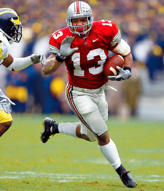 NFL rules require a player to wait at least three years after graduating from high school before entering the draft. Clarett decided to test that rule, though, when he tried to enter in 2004 -- just two years after high school. He sued the NFL for not allowing him to enter, but after the case reached the Supreme Court, he lost his bid. Clarett was drafted 101st overall in the 2005 NFL Draft by the Denver Broncos.