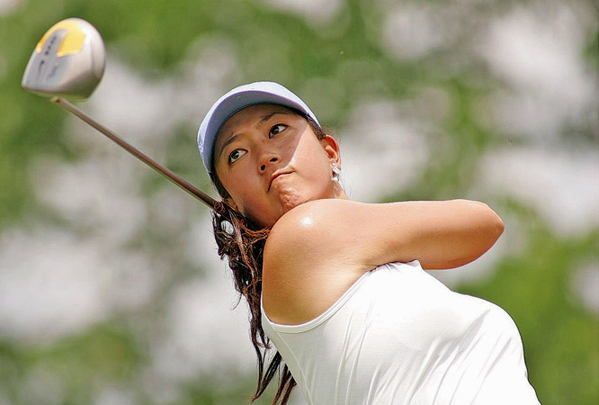 Dubbed a phenom before she hit in a professional tournament, 15-year-old Wie competed in the U.S. Women's Open and the Women's British Open thanks to special petitions that allow for girls as young as 15. Normally, the LPGA sets the bar at 18.