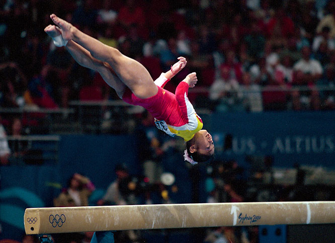 At the 2000 Olympics, Yang won bronze in both the uneven bars and in the team competition for China. Now a reporter for China's CCTV, Yang admitted on air during the Beijing Olympics that she was only 14 when she won her medals.