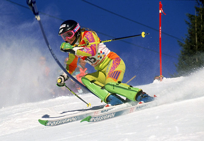 A three-time Olympian (1988, '92 and '94), Lindh won a silver medal in the 1992 Games in the downhill and was the only American to medal in the 1997 World Championships, where she won gold in the downhill. Lindh won five U.S. Championships over the span of 11 years and was inducted into the National Ski Hall of Fame in 2005.<br><br>Worthy of consideration: Molly Tuter.