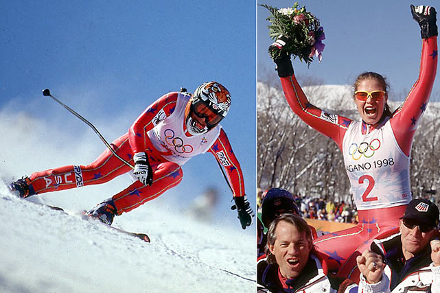 Joining the U.S. Ski Team in 1989 at 17, Picabo won two Olympic medals, including gold in the Super-G ('98) and silver in the downhill ('94).  She also won three world championship medals: a silver in combined ('93), bronze in Super-G ('96) and gold in downhill ('96), the latter making her the first American to win a title in a speed event. After suffering a broken femur and torn ACL in her right knee during a crash after the '98 Games, Street spent two and a half years recovering before returning to competition. She retired in 2002.<br><br>Worthy of consideration: Andrea Lloyd-Curry.