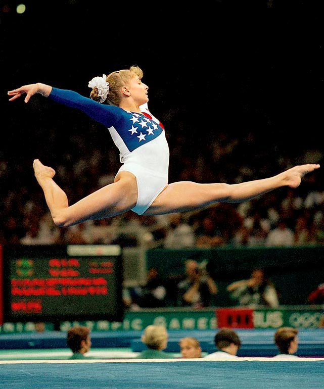 The most decorated gymnast -- male or female -- in U.S. history, Miller won five medals in 1992: bronze medals in the team competition, uneven bars and floor exercise, and silver medals in the all-around and balance beam. At the 1996 Atlanta Games she was one of the gold-medal winning Magnificent Seven. Despite wrist and hamstring injuries, she also won an individual gold in the balance beam, the first for a female American gymnast at a non-boycotted Olympics.<br><br>Worthy of consideration: Amy Alcott, Candice Parker, Judy Rankin and Helen Stephens.