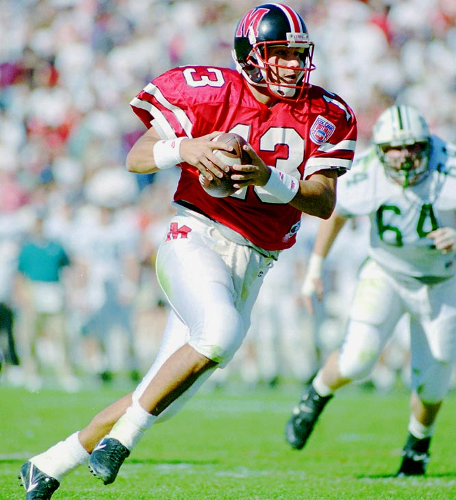 Milanovich is the most decorated, and perhaps the most talented, Terrapin quarterback of all time.  Despite a brief controversy and subsequent suspension, he still holds the vast majority of Maryland passing records, including career yards (7,301), touchdowns (49) and completions (650).