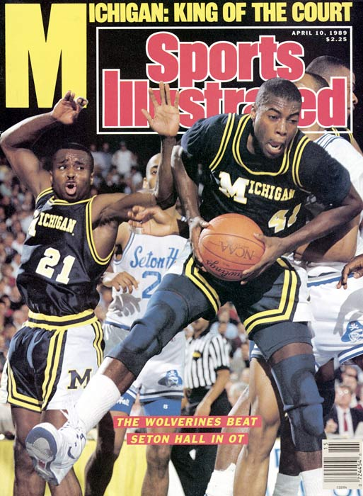 Even though the Fab Five came a few years later with the additions of Webber, Howard and Rose, Glen Rice is still Michigan's all-time leading scorer with 2,442 points. During his senior season, Rice led the Wolverines to an NCAA title and won the NCAA tournament's Most Outstanding Player award.