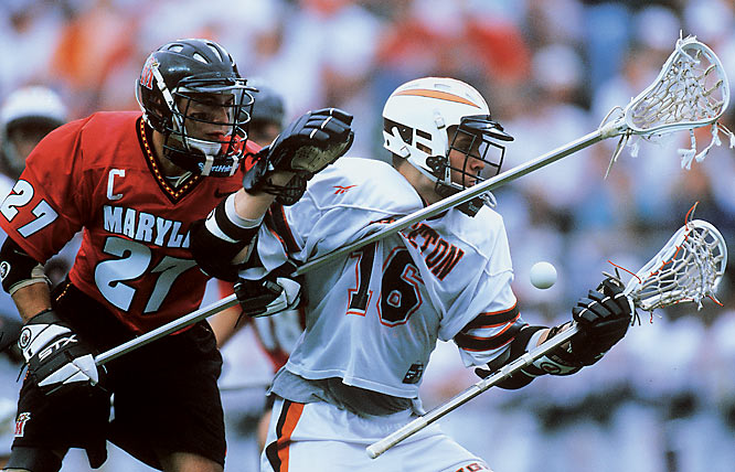 Hubbard's arrival in Princeton further asserted the university's presence as a national men's lacrosse powerhouse. As a sophomore, he scored the game-winning goal in overtime to catapult the Tigers to a 13-12 win in the 1996 NCAA championship game. That title was the first of three-straight for Princeton lacrosse. The MLL-bound Hubbard racked up a school-record 163 career goals in orange and black.
