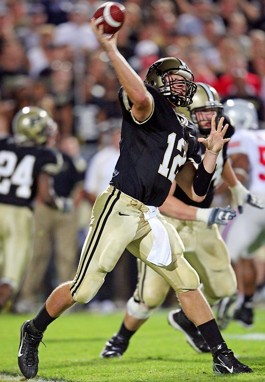 The Boilermakers are touting Painter as a Heisman candidate with the Web site cutispainter12.com. Painter will probably break Drew Brees' Big Ten record of 11,792 career passing yards.