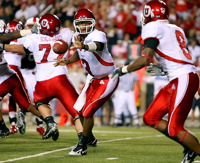 Quarterback Brian Johnson (3) and wide receiver Brent Casteel give Utah plenty of firepower -- if the team can stay healthy. Johnson played much of last season with a shoulder injury and Casteel was knocked out with an ACL tear. The defense could be dominant, returning seven starters from a group that was fifth in points allowed and first in pass efficiency defense.