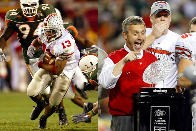 In ending Miami's 34-game winning streak, Jim Tressel's Buckeyes asserted themselves as one of the nation's new powers and capped a five-year period in which the Big Ten ranked No. 1 in our CPI standings.