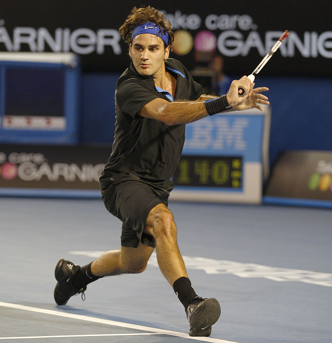 Federer lost 7-5, 6-3, 7-6 (5) in the semifinals to eventual champion Novak Djokovic, ending his record string of 10 straight Grand Slam final appearances.