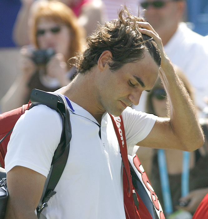 Roger Federer's loss Thursday to Ivo Karlovic (coupled with Rafael Nadal's victory Friday over Nicolas Lapentti) ensured the Swiss grandmaster will cede his No. 1 ranking to his Spanish rival on Aug. 18 -- after a mind-blowing 237 consecutive weeks atop the ATP rankings. Here's a look back at some of the highlights from Federer's four-and-a-half-year reign.
