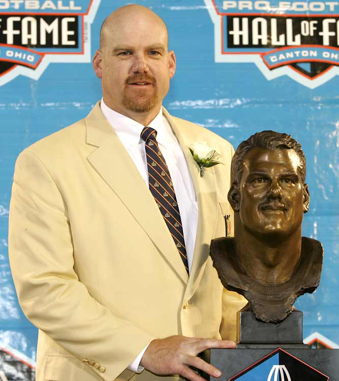 Gary Zimmerman has become the 32nd offensive tackle (in the modern era) to earn a spot in the Pro Football Hall of Fame.