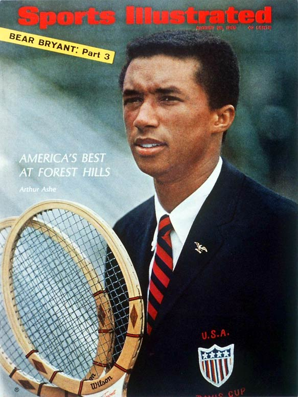 Arthur Ashe becomes the first African-American to win a U.S. singles championship.
