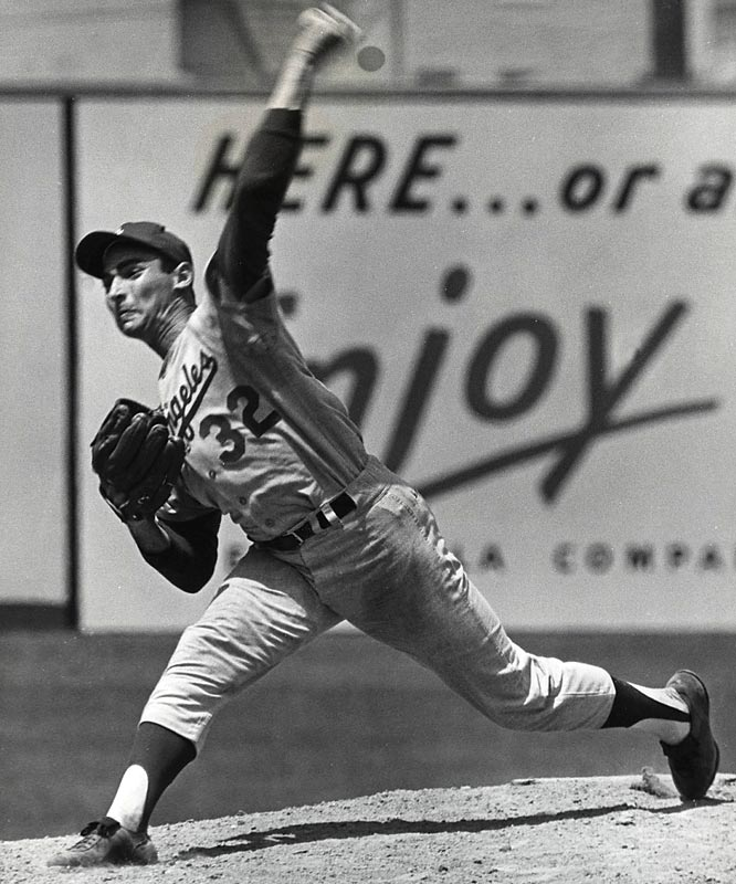 At Shea Stadium, the Mets beat the Dodgers, 5-2, making Tug McGraw (2-2) the first Mets pitcher to defeat Sandy Koufax (21-7). Previously, New York had lost 13 consecutive times to the future Hall of Fame southpaw.