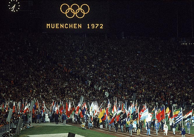 The 20th Olympic games open in Munich, Germany.
