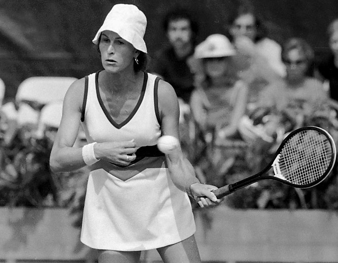 Transsexual tennis star Renee Richards, who was born Richard Raskind, is barred from competing in U.S. Open.