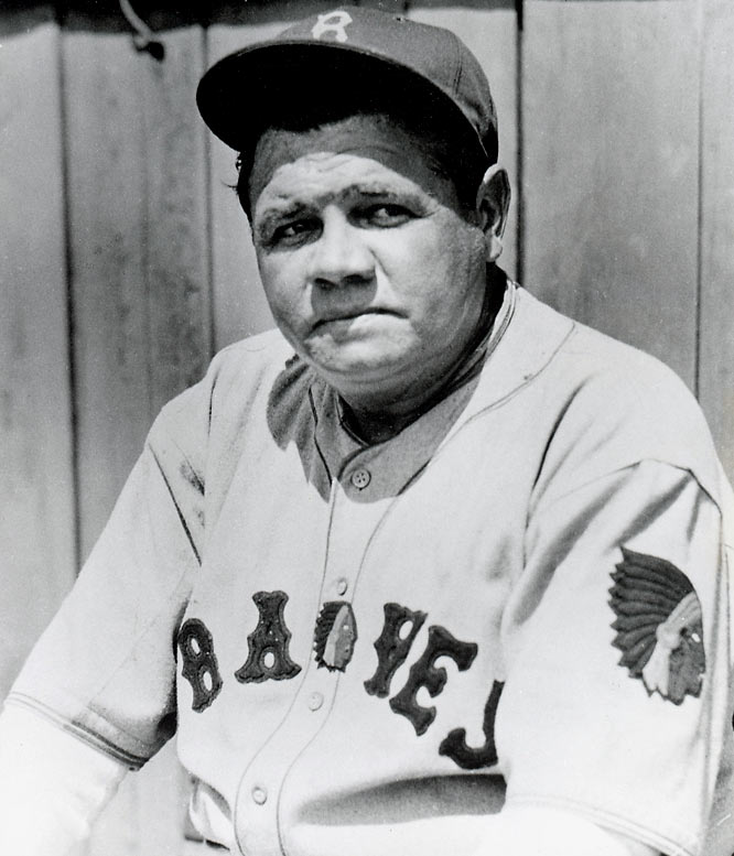 His skills fading and his desire to manage causing friction, Ruth refused the job with the Yankees' top minor league team and was traded for essentially nothing on Feb. 26, 1935 to the Boston Braves, who desperately wanted a gate attraction. Ruth's deal included a role as assistant manager plus a share of the team's profits -- promises that never materialized. He hit only .181 and fielded wretchedly before May 25, when he cranked three homers, his last clearing the roof at Pittsburgh's Forbes Field -- the first player to accomplish that feat. Five days later, the former Sultan of Swat hurt his knee and soon announced his retirement. Boston finished 38-115.