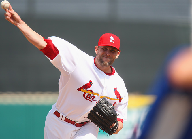 Looper, a starting pitcher now with the Cardinals after spending most of his career as a reliever, was the closer for the 1996 U.S. Olympic team, earning one save in four appearances and not allowing an earned run.