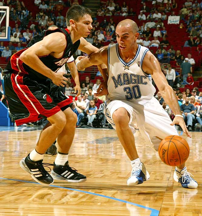 Arroyo made $4 million last season as Orlando's backup point guard, but he'll be paid more (after taxes) in his new deal with Maccabi Tel-Aviv. Arroyo, 29, has career averages of 7.0 points and 3.3 assists in seven NBA seasons. His best season came in 2003-04 when he averaged 12.6 points and 5.0 assists as Utah's starting point guard.