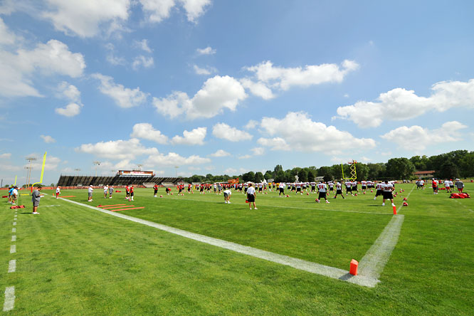 SI photographer Tom Dahlin's shots from Chiefs training camp.